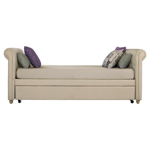 Sophia Upholstered Daybed & Trundle - Dorel Home Products - image 1 of 4