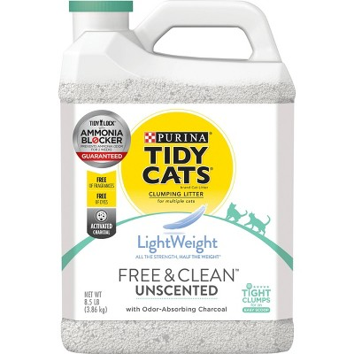 Cat Litter: Purina Tidy Cats Free & Clean Lightweight