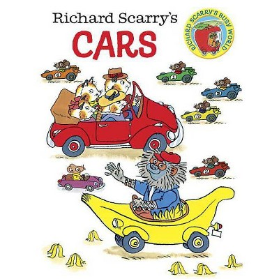 Richard Scarry's Cars by Richard Scarry (Board Book)