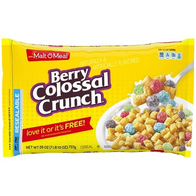 Berry Colossal Crunch Breakfast Cereal - 26oz - Malt O Meal