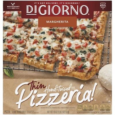 DiGiorno Thin Crust Margherita Frozen Pizza - 18oz