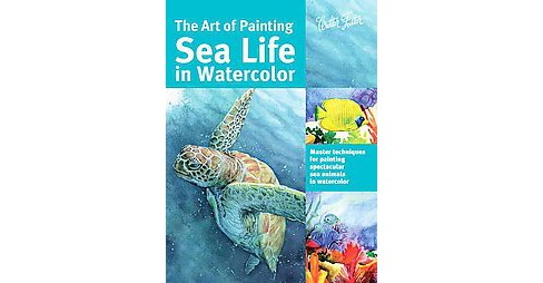 Art of Painting Sea Life in Watercolor (Paperback) (Maury Aaseng & Hailey E. Herrera & Louise De Masi & - image 1 of 1