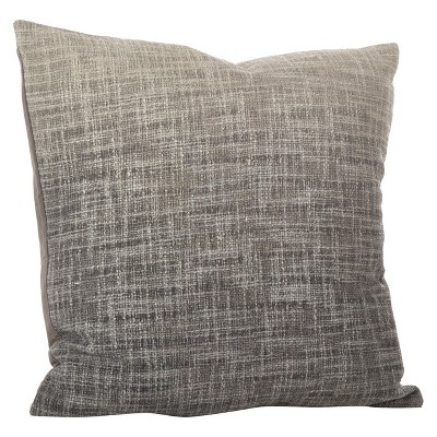 Gray Lancaster Ombre Design Throw Pillow (20 )- Saro Lifestyle®