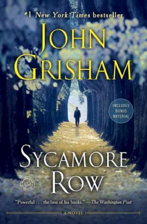Sycamore Row (Reprint) (Paperback) by John Grisham - image 1 of 1