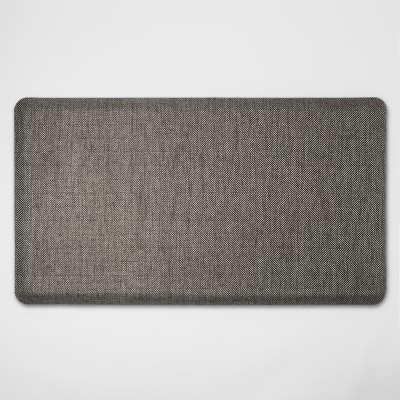 36 x20  Herringbone Comfort Mat Gray - Threshold™