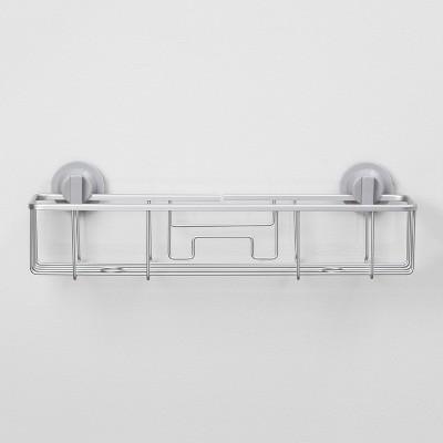 Rustproof Suction Long Basket Aluminum - Made By Design™
