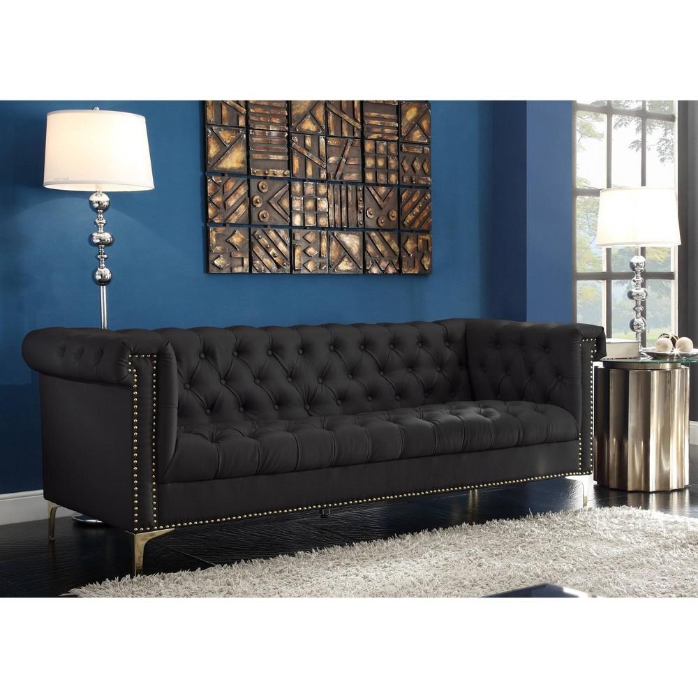 Patton Sofa Black - Chic Home Design