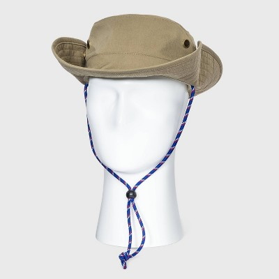 Men's Bonnie Hat with Blue Cord - Goodfellow & Co™ Khaki M/L