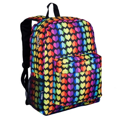 Wildkin Rainbow Hearts 16 Inch Backpack