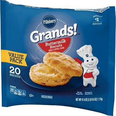 Pillsbury Grands! Buttermilk Frozen Biscuits - 41.6oz