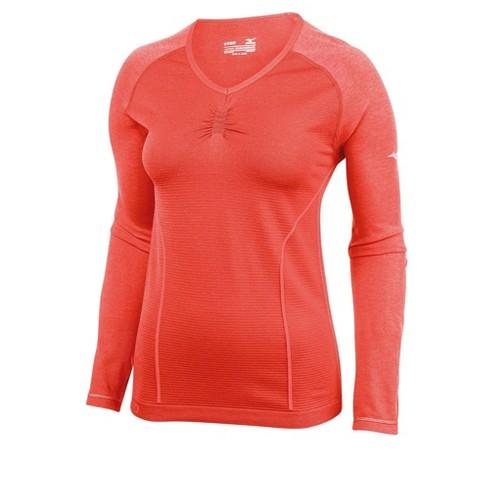 Mizuno Women's Breath Thermo Seamless Long Sleeve Running Shirt - image 1 of 3