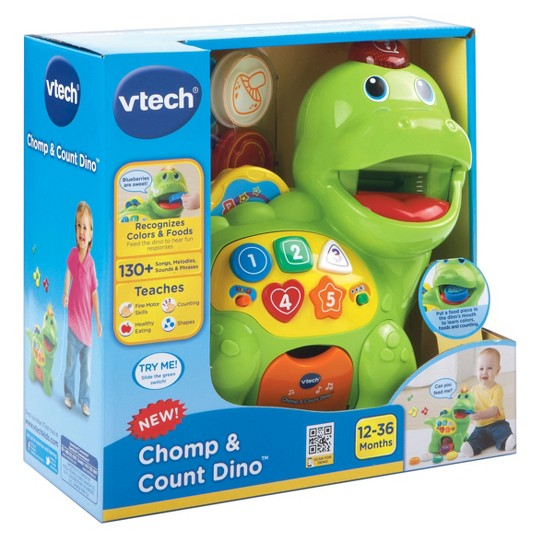 VTech Chomp and Count Dino image number null