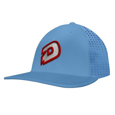 c35df48fc1f DeMarini D Logo Baseball Softball Flex-Fit Trucker Hat - Columbia ...
