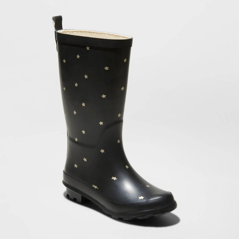 Image of Girls' Lulani Rain Boots - Cat & Jack Black 13, Girl's