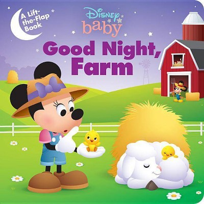 Disney Baby Good Night, Farm - (Board Book)