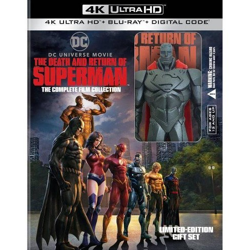 DCU: The Death and Return of Superman (4K/UHD) - image 1 of 1