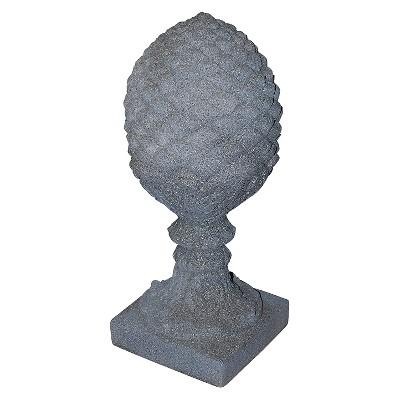 """Emsco 23.25"""" Resin Pineapple Finial Statuary"""