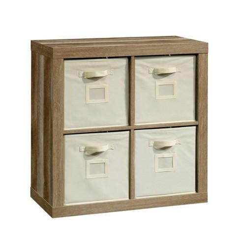 Stow Away 4 Cube Organizer Lintel Oak - Sauder - image 1 of 4