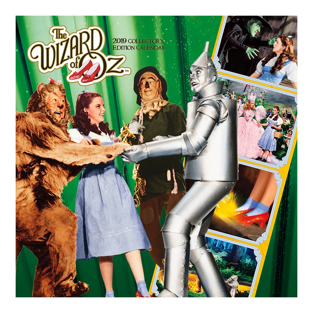 2019 Wall Calendar The Wizard of Oz Collector's Edition - Trends International, Multi-Colored