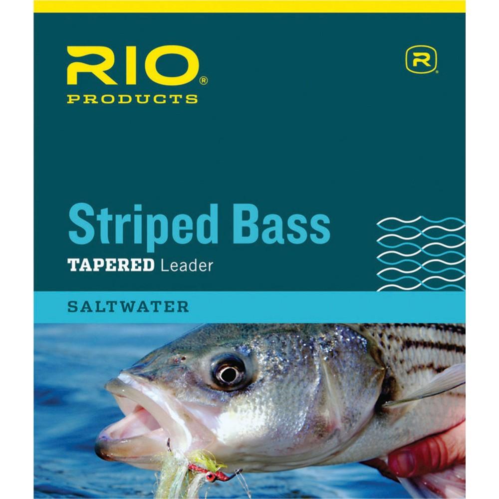 RIO 3-PACK POWERFLEX TROUT 7.5 FT 7X 2.4 LB FRESHWATER NYLON FLY FISHING LEADERS