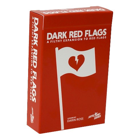 Red Flags Game Dark Red Flags Expansion - image 1 of 1
