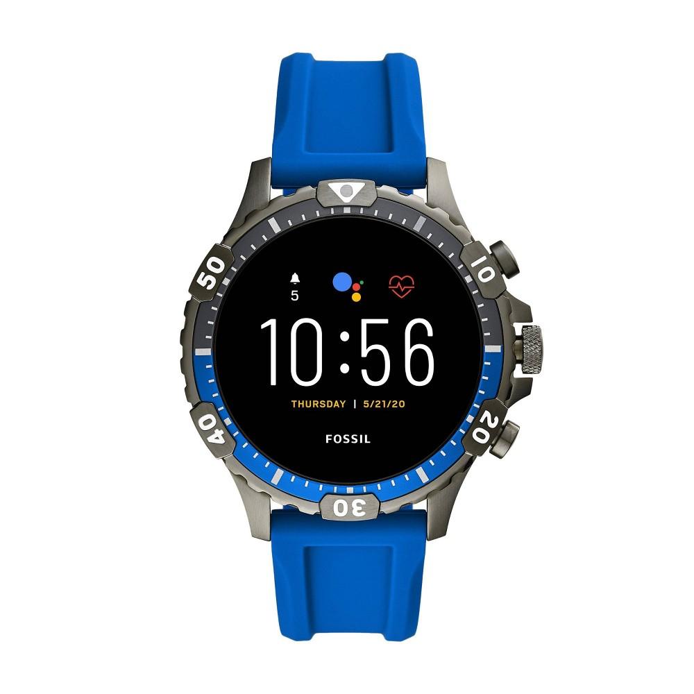 Fossil Gen 5 Smartwatch - Garrett HR Blue Silicone was $295.99 now $199.0 (33.0% off)