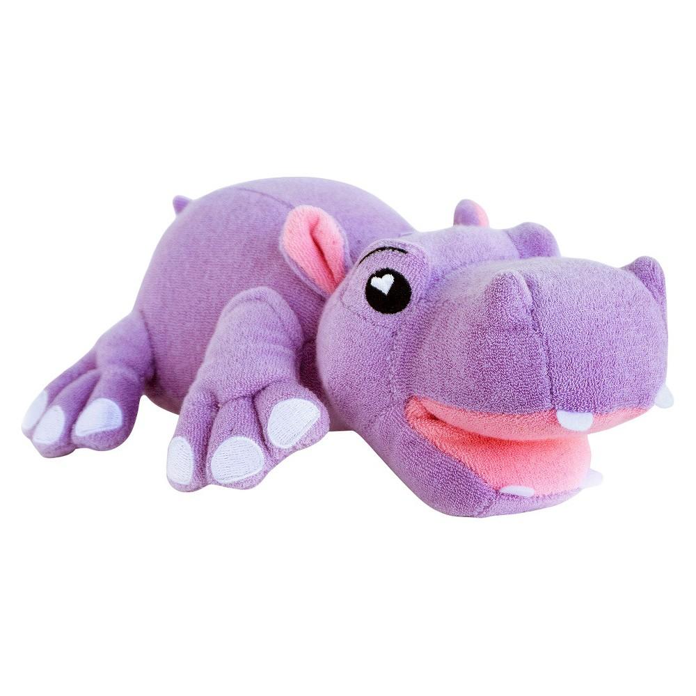 Image of SoapSox Wash Mitt, Harper the Hippo, Purple
