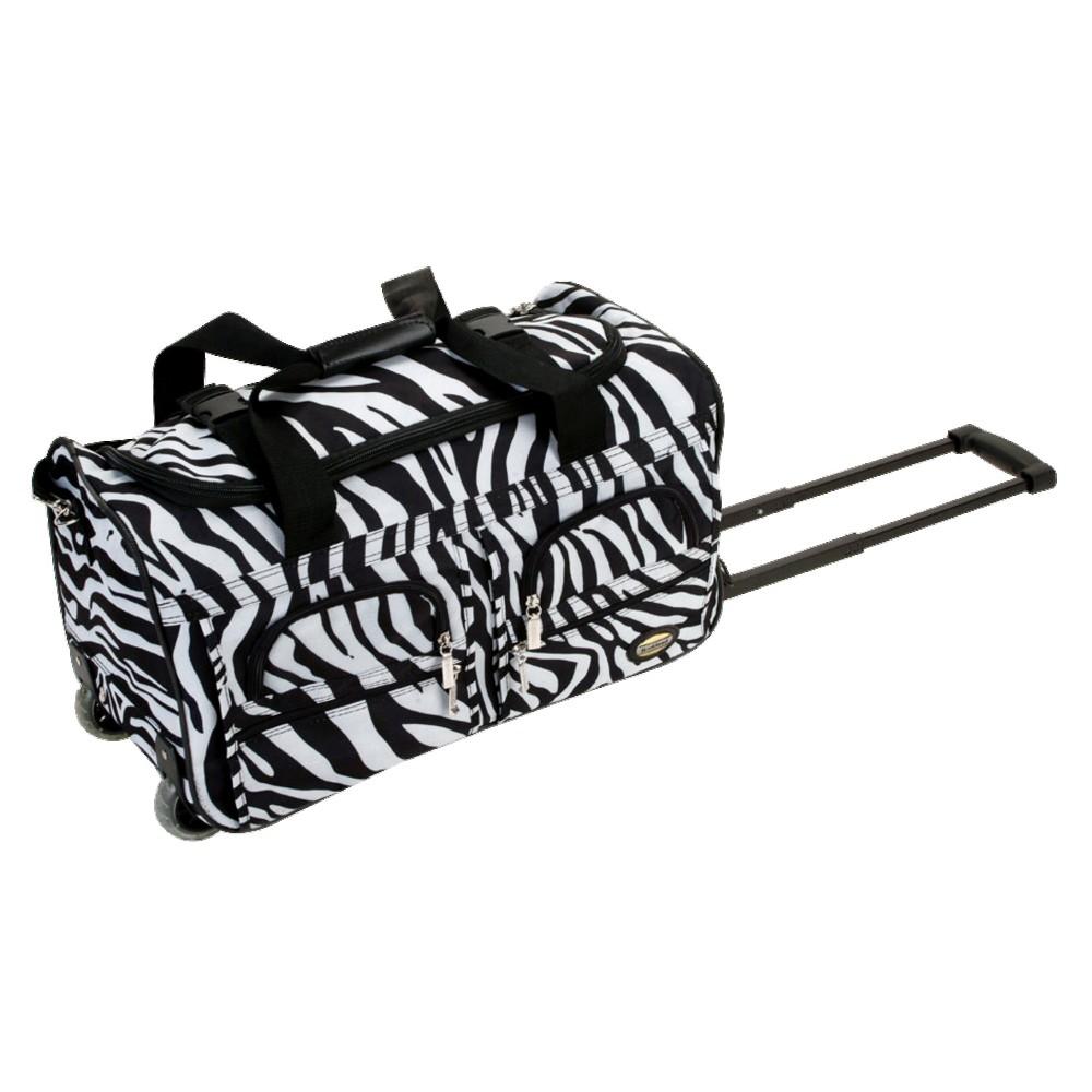 Rockland 22 Rolling Duffel Bag - Zebra Reviews