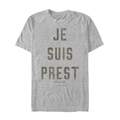 Men's Outlander Je Suis Prest Ready T-Shirt