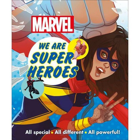 Marvel We Are Super Heroes - by  Emma Grange (Hardcover) - image 1 of 1