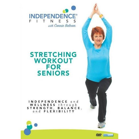 Independence Fitness Stretching Workout For Seniors Dvd Target