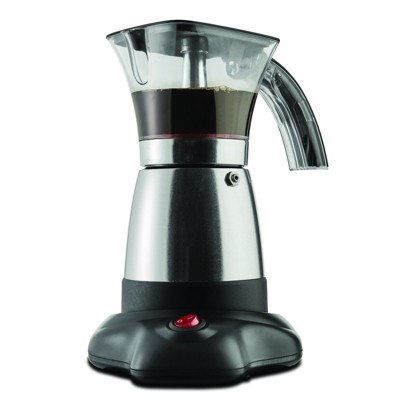 Brentwood Moka Espresso Maker in Stainless Steel