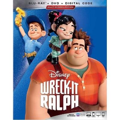 Wreck-It Ralph (Blu-ray + DVD + Digital)