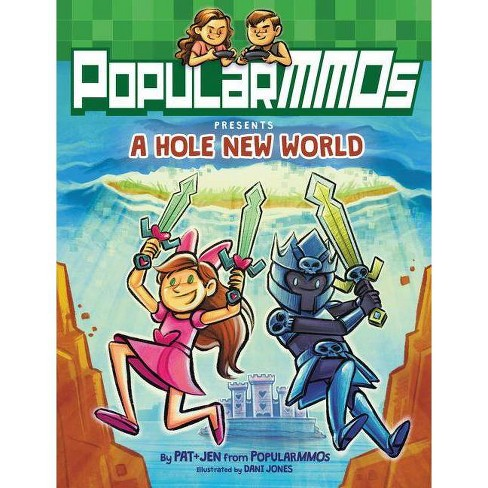 PopularMMOs Presents Hole New World by Popular MMOs (Hardcover) - image 1 of 1