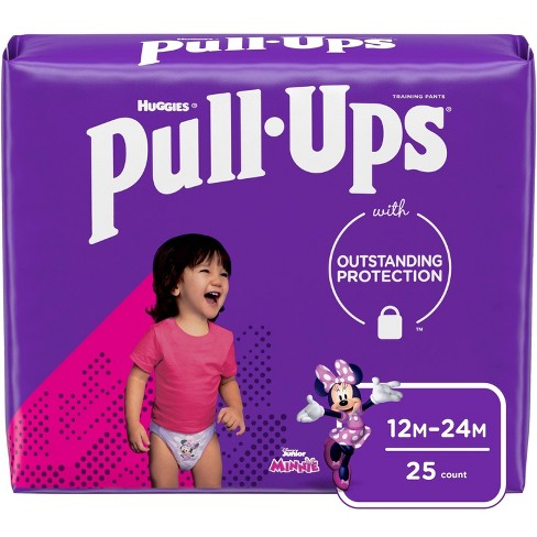 Huggies Pull Ups Learning Designs Girls' Training Pants Jumbo Pack - (Select Size) - image 1 of 4