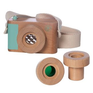The Manhattan Toy Company Camp Acorn - Wood Camera