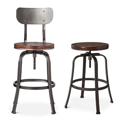 Surprising Dakota Adjustable Barstool Collection Target Pabps2019 Chair Design Images Pabps2019Com