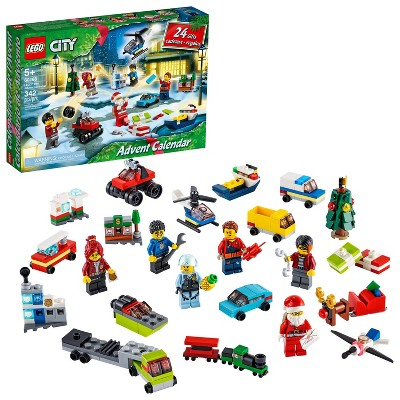 LEGO City Advent Calendar with City Play Mat, Best Festive Toys for Kids 60268