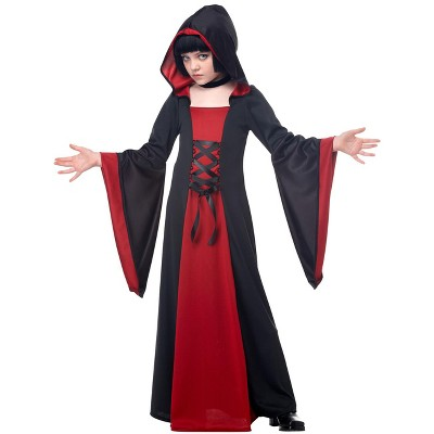 California Costumes Hooded Robe Child Costume (Red/Black)