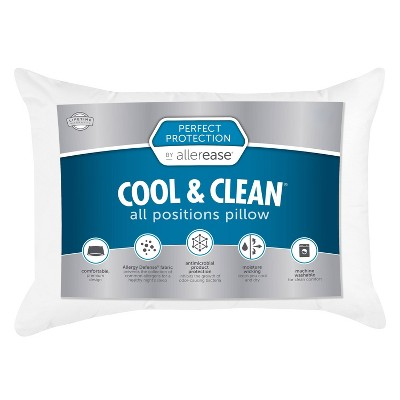 Standard/Queen Perfect Protection Cool & Clean All Positions Bed Pillow - Allerease