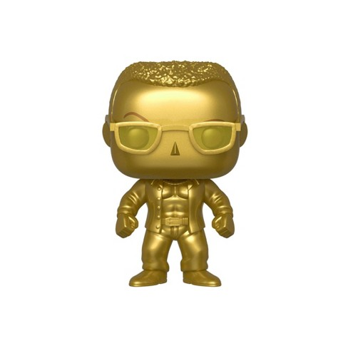 Funko POP! WWE: SmackDown Live 20th Anniversary - The Rock (Gold Metallic) (NYCC Debut) - image 1 of 2