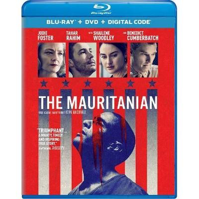 The Mauritanian (Blu-ray + DVD + Digital)
