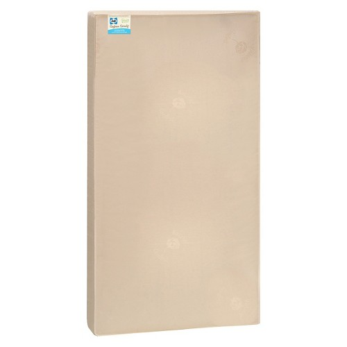 Sealy Nature Couture Soybean Serenity Foam Crib and Toddler Mattress, Beige