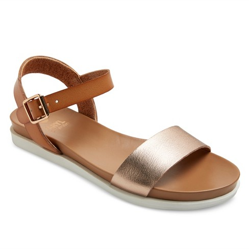 f29c69a7564a Women s Faryl by Farylrobin Catalina White Bottom Ankle Strap Sandals