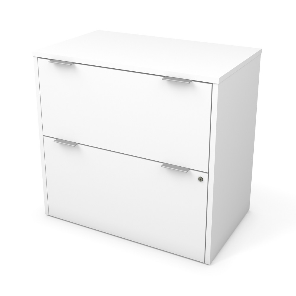 Image of 2 Drawer I3 Plus File Cabinet White - Bestar