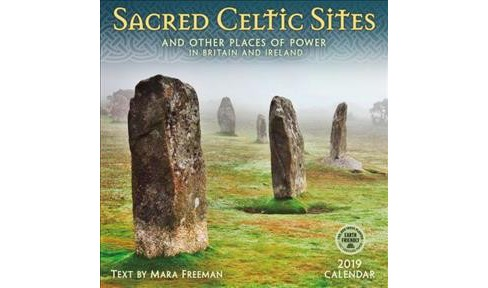 Sacred Celtic Sites 2019 Calendar : And Other Places of Power in Britain and Ireland -  (Paperback) - image 1 of 1