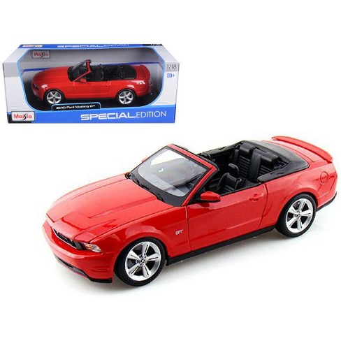 2010 Ford Mustang Convertible Red 1 18 Cast Model Car By Maisto Target