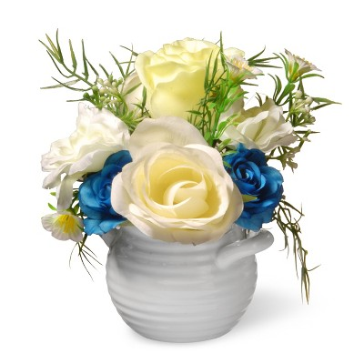 "7"" Potted Rose Flowers - National Tree Company"
