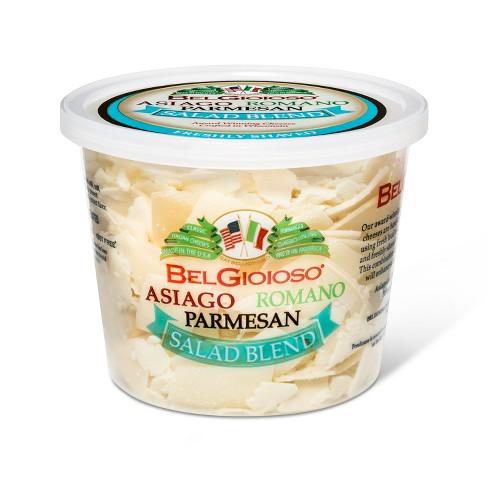 Belgioioso Asiago, Romano, Parmesan Shaved Salad Blend - 5oz - image 1 of 1