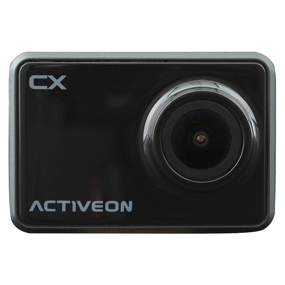 Image of Activeon CX - HD 4x Digital Zoom 5mp Cmos Sensor Action Camera - Black (CCA10W)